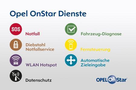 Voll vernetzt: Opel OnStar geht mit einer breiten Palette von Leistungen an den Start, inklusive WLAN-Hotspot, automatische Unfallhilfe und Diebstahl-Notfallservice © GM Company