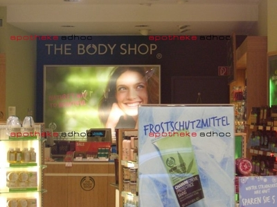 """The Body Shop"" drängt in Apotheken"