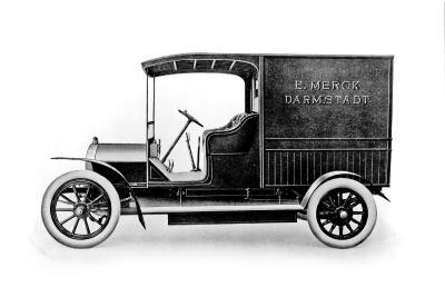 Opel 8 14 PS delivery van 1907
