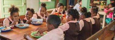 Suppenküche für Schulkinder in Belize © Foto: Omar de la Fuente Jr./Inter-American Division