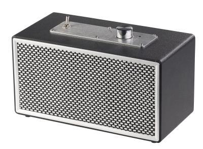 ZX 1711 2 auvisio Mobiler Retro Lautsprecher mit Bluetooth 4.1