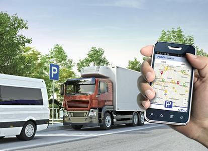 VDO-App TruckYa!: Stellplatzsuche im Güterverkehr wird noch einfacher, cleverer - und digital