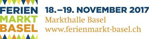 Logo Ferienmarkt Basel 2017 mit Termin
