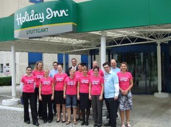 """""""Gemeinsam schaffen wir es"""" - so der Teamgedanke der Mitarbeiter im Holiday Inn Stuttgart während der Systemumstellung auf OPERA"""