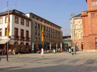 Bisheriger Sitz des Deutschen Weinfonds (DWF), der Deutschen Weinakademie (DWA) und des Deutschen Weininstituts (DWI) in der rheinland-pfälzischen Landeshauptstadt Mainz