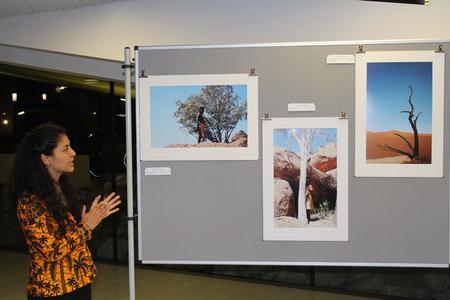 Es sind Bilder wie dieses, mit denen die Masterabsolventin die Lebensfreude der indigenen Völker Namibias verdeutlichen möchte (Foto: Andrea Pérez Mora)