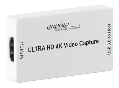 auvisio HDMI-Video-Rekorder & Streaming-Box GC-400, 4K / UHD, USB 3.0, 30 Bilder/Sek.