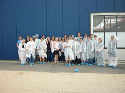 Studierende der Hochschule Osnabrück haben gemeinsam mit Studierenden aus den Niederlanden Lebensmittelproduzenten in  Deutschland und Holland besucht