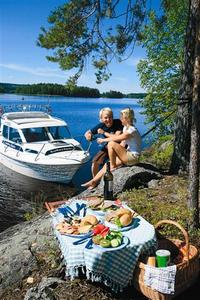 Bootstour in Finnland