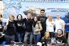 Sea Shepherd Crew im monte mare Indoor-Tauchzentrum