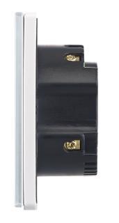 NX 4503 04 Luminea Home Control Touch Lichtschalter LHC 101.on. WLAN