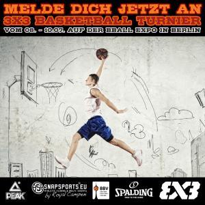 B'BALL EXPO 3x3 Turnier Anzeige