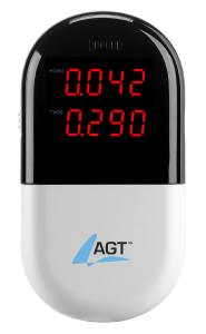 AGT Raumluft-Messgerät für HCHO & flüchtige organische Verbindungen (TVOC)