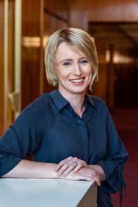 Lydia Schubert, die neue Verwaltungsdirektorin der Oper Leipzig © Kirsten Nijhof / Oper Leipzig