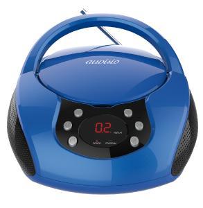 auvisio Tragbarer Stereo-CD-Player mit Radio, Audio-Eingang & LED-Display / Copyright-Hinweis angebracht: PEARL. GmbH / www.pearl.de