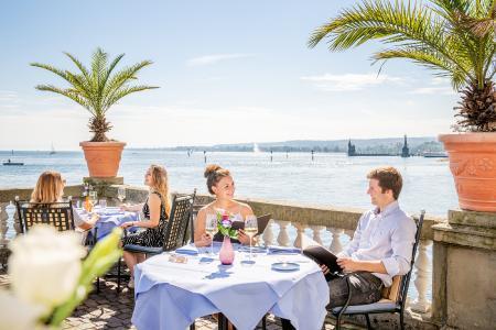 Steigenberger Inselhotel Seerestaurant / Bild: MTK Dagmar Schwelle