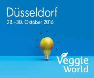Ankündigung: VeggieWorld findet zum fünften Mal in Düsseldorf statt / Copyright: VeggieWorld Düsseldorf