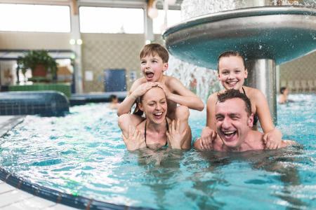 Badespaß für die ganze Familie im Trixi-Bad