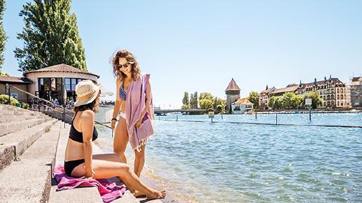 Konstanzer Strandbäder: SommerFreude & BadeSpaß am Bodensee