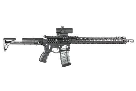 Skelettiert und leicht - Erste Dreamgun Brownells Deutschland / Custom AR-15 Gewicht: 2,76KG (ungeladen); Länge: 79cm - 110cm; 3149€