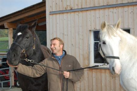 Armin mit Gina und Kaja