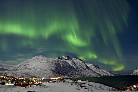 Polarlicht in Tromso (Bildquelle:©visitnorway)