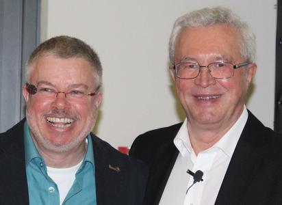 Johannes Heppenheimer und Gottfried Röttel, Salux Netzwerk GmbH.