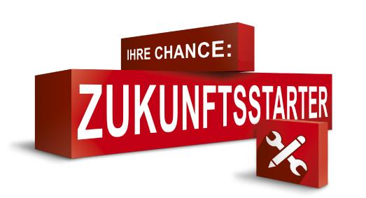 "Initiative ""Zukunftsstarter"" Logo"