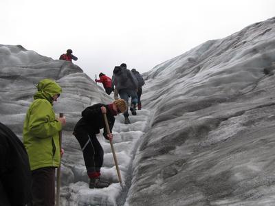 Gletscherwanderung am Fox Glacier