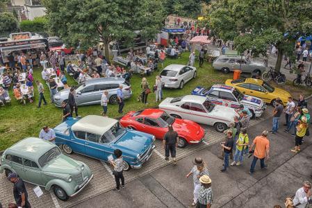 Volksfest mit Stil: Das Klassikertreffen an den Rüsselsheimer Opelvillen begeisterte mehr als 30.000 Besucher