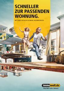 """Schneller zur passenden Wohnung – darum geht es in der neuen Immowelt-Kampagne """"Eine Welt voller Zuhause"""", Foto: Immowelt AG"""