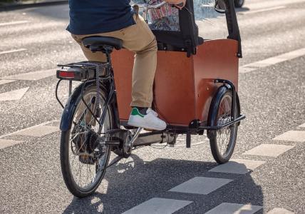 Kindermitnahme auf dem Lastenrad - aber sicher!