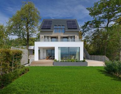 Das Neue Baufritz Musterhaus In Langenargen Mit Weitsicht Geplant