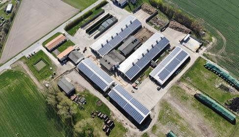 Ranft-Dachanlage in Groß Briesen