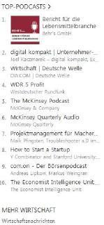 Nr. 1 im iTunes Ranking