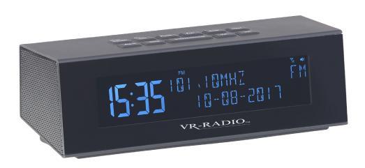 NX 4371 3 VR Radio Digitales DAB FM Stereo Radio mit Wecker