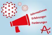 Die Deutsche Alzheimer Gesellschaft setzt sich für die Belange von Menschen mit Demenz auch in Zeiten von Corona ein. Sie sammelt Erfahrungen und informiert Betroffene und Angehörige.