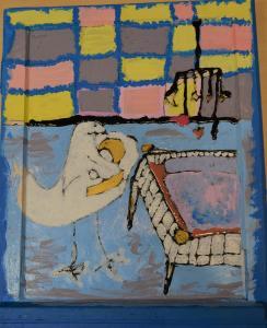Werk von Melisa Asar, Kunstgruppe MoArts des UNIONHILFSWERK