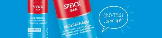 Speick Men Rasierschaum_ÖKO-Test sehr gut. August 2020