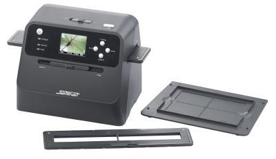 Somikon 3in1-Stand-Alone-Foto-, Dia- und Negativscanner SD-1600 mit 14-MP-Sensor, Akku, Bild: PEARL.GmbH / www.pearl.de
