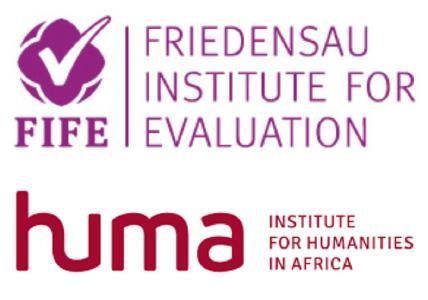 Logo der beiden Institutionen FIFE und HUMA