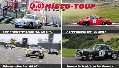 AvD-Histo-Tour: 2 Tage, 3 Rennstrecken