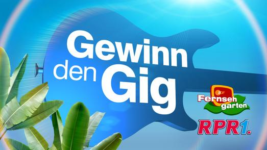 """Gewinn den Gig"" goes TV"
