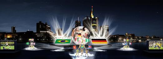 """Die Show  """"Ballzauber am Main"""" wird alle Spielerinnen und Fans der FIFA Frauen-Weltmeisterschaft begrüßen"""