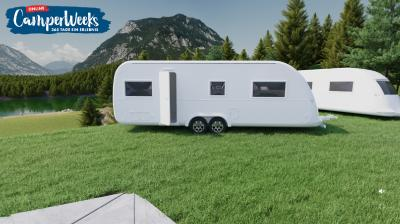 Die CamperWeeks bietet eine faszinierende Vielfalt an Campingfahrzeugen als 3D-Erlebnis.