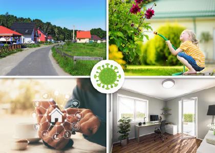 Nach Corona wird sich eine Menge ändern - auch der Hausbau der Zukunft?