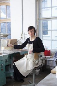 Designerin Barbara Schmidt