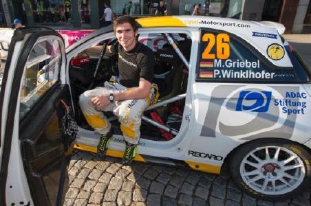 Auf Opel ADAM R2: Marijan Griebel ist der erste deutsche Rallye-Europameister seit 15 Jahren