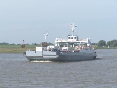Elbefähre von Wischhafen nach Glückstadt