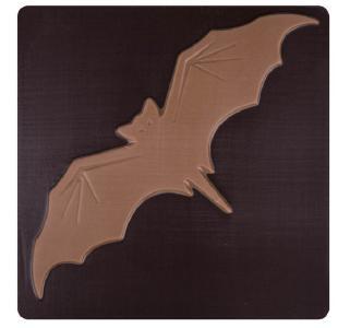 ChocoQuadrat Fledermaus